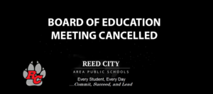 BOE Meeting March 25, 2020 Cancelled