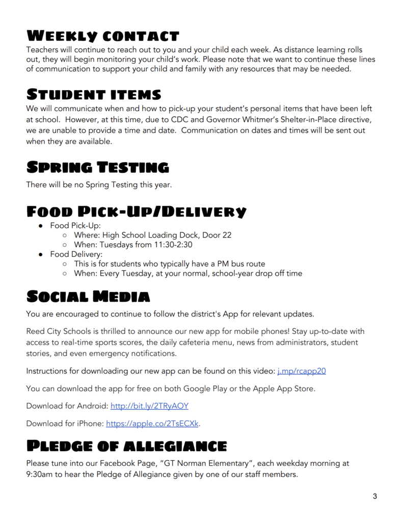 GT Distance Learning Plan Pg 3