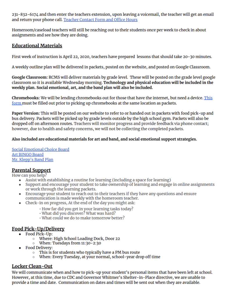 RCMS Parent Guide Pg 2